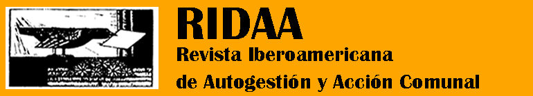 Revista Iberoamericana de Autogestión y Acción Comunal